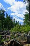 ο ποταμός τρέχει όπου Στοκ εικόνες με δικαίωμα ελεύθερης χρήσης