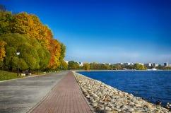 Ο ποταμός Στοκ Εικόνα