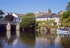 Ο ποταμός Avon Christchurch Dorset Στοκ φωτογραφίες με δικαίωμα ελεύθερης χρήσης