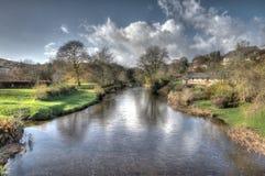 Ο ποταμός Barle σε Withypool, Exmoor στοκ φωτογραφίες με δικαίωμα ελεύθερης χρήσης