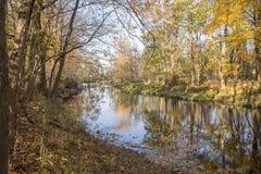 Ο ποταμός Blanchard Στοκ φωτογραφία με δικαίωμα ελεύθερης χρήσης