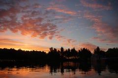Ο ποταμός Dnieper Στοκ εικόνες με δικαίωμα ελεύθερης χρήσης
