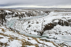 Ο ποταμός Miklagil Στοκ φωτογραφία με δικαίωμα ελεύθερης χρήσης