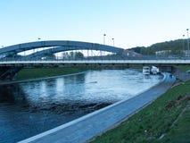 Ο ποταμός Neris σε Vilnius Στοκ εικόνες με δικαίωμα ελεύθερης χρήσης