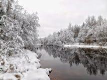 Ο ποταμός Oredezh Στοκ Φωτογραφία