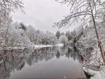 Ο ποταμός Oredezh Στοκ Εικόνες