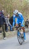 Ο ποδηλάτης Delio Fernandez Cruz - Παρίσι-Νίκαια 2016 Στοκ φωτογραφίες με δικαίωμα ελεύθερης χρήσης