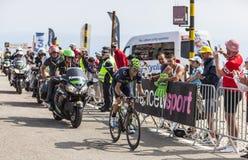 Ο ποδηλάτης Alejandro Valverde Belmonte Στοκ φωτογραφία με δικαίωμα ελεύθερης χρήσης