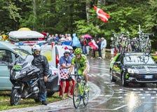 Ο ποδηλάτης Alessandro de Marchi Στοκ Φωτογραφία