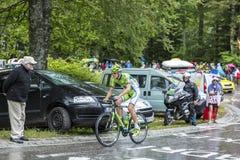 Ο ποδηλάτης Alessandro de Marchi Στοκ Εικόνες
