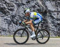 Ο ποδηλάτης Cameron Meyer Στοκ Εικόνες