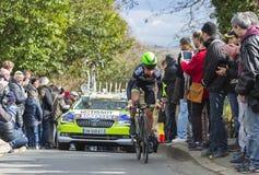 Ο ποδηλάτης Chris Anker Sorensen - Παρίσι-Νίκαια 2016 Στοκ Εικόνες
