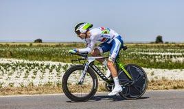 Ο ποδηλάτης Daryl Impey Στοκ Εικόνες