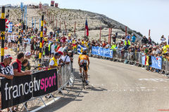 Ο ποδηλάτης Igor Anton Hernandez Στοκ Φωτογραφίες