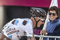 Ο ποδηλάτης John Gadret Στοκ εικόνες με δικαίωμα ελεύθερης χρήσης
