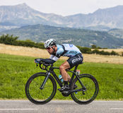 Ο ποδηλάτης Mark Cavendish Στοκ Εικόνες