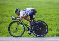 Ο ποδηλάτης Nairo Αλέξανδρος Quintana Rojas Στοκ Εικόνες