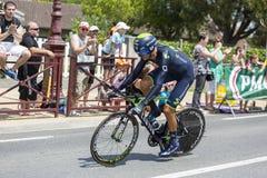 Ο ποδηλάτης Ruben Plaza Molina - περιοδεύστε το de Γαλλία το 2014 Στοκ φωτογραφία με δικαίωμα ελεύθερης χρήσης