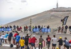 Ο ποδηλάτης Thomas Voeckler Στοκ φωτογραφία με δικαίωμα ελεύθερης χρήσης