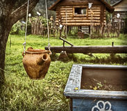 Ο πολιτισμός νησιών της αρχαίας Ρωσίας Στοκ εικόνες με δικαίωμα ελεύθερης χρήσης