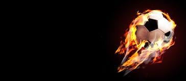 2$ο ποδόσφαιρο γραφικής παράστασης πυρκαγιάς σχεδίου υπολογιστών σφαιρών Στοκ φωτογραφία με δικαίωμα ελεύθερης χρήσης