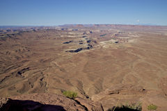 Ο πράσινος ποταμός αγνοεί, Canyonlands N.P. Στοκ Εικόνα