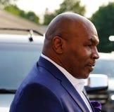 Ο προηγούμενος εγκιβωτίζοντας πρωτοπόρος Mike Tyson παρευρίσκεται στην ανοικτή τελετή έναρξης 2018 ΗΠΑ στοκ φωτογραφίες