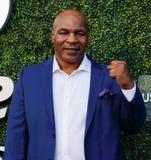 Ο προηγούμενος εγκιβωτίζοντας πρωτοπόρος Mike Tyson παρευρίσκεται στην ανοικτή τελετή έναρξης 2018 ΗΠΑ στοκ φωτογραφίες με δικαίωμα ελεύθερης χρήσης