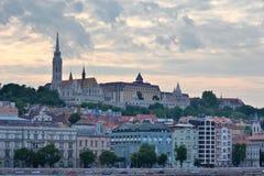 Ορίζοντας της Βουδαπέστης Στοκ εικόνες με δικαίωμα ελεύθερης χρήσης