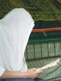 Ο προσκυνητής στον τάφο Sariana Στοκ Εικόνες