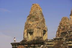 Ο προ Rup ναός, Angkor περιοχή, Siem συγκεντρώνει, Καμπότζη Στοκ εικόνες με δικαίωμα ελεύθερης χρήσης
