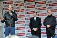 Ο πρωθυπουργός της Ουκρανίας Arseniy Yatsenyuk_3 Στοκ Φωτογραφία
