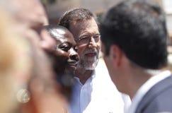 Ο Πρόεδρος της Ισπανίας Μαριάνο Ραχόι Στοκ Εικόνες