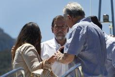 Ο Πρόεδρος της Ισπανίας Μαριάνο Ραχόι Στοκ Φωτογραφία