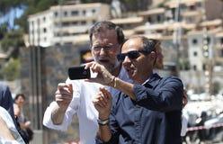 Ο Πρόεδρος της Ισπανίας Μαριάνο Ραχόι Στοκ φωτογραφία με δικαίωμα ελεύθερης χρήσης