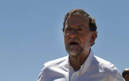 Ο Πρόεδρος της Ισπανίας Μαριάνο Ραχόι Στοκ Φωτογραφίες