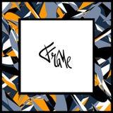 ο πρόσθετος eps πλίθας εικονογράφος πλαισίων μορφής περιλαμβάνει το διάνυσμα Στοκ Εικόνα