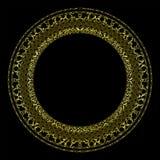 ο πρόσθετος eps πλίθας χρυσός εικονογράφος πλαισίων μορφής περιλαμβάνει Στοκ Εικόνα