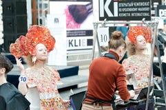 ο πρότυπος στιλίστας του Στοκ φωτογραφία με δικαίωμα ελεύθερης χρήσης
