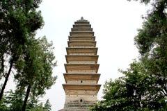 Ο πρώτος βουδιστικός ναός στην Κίνα, άσπρος ναός αλόγων, ναός Baima Στοκ εικόνα με δικαίωμα ελεύθερης χρήσης