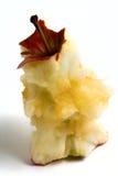 ο πυρήνας μήλων πουφαγώθη&k Στοκ Φωτογραφίες