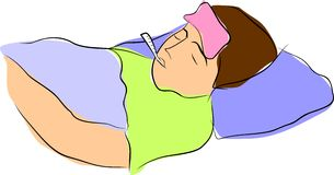 ο πυρετός έχει το ι Στοκ φωτογραφία με δικαίωμα ελεύθερης χρήσης