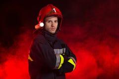 Ο πυροσβέστης Στοκ φωτογραφία με δικαίωμα ελεύθερης χρήσης