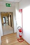 Ο πυροσβεστήρας Στοκ Εικόνες