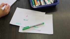 Ο πόλεμος λέξης σε χαρτί φιλμ μικρού μήκους