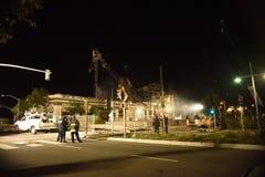 Ο πόλεμος Καλιφόρνιας Gentrification Στοκ φωτογραφίες με δικαίωμα ελεύθερης χρήσης