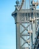 Ο πύργος γεφυρών του Μανχάταν, πόλη της Νέας Υόρκης Στοκ Εικόνες