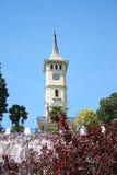 Ο πύργος 'Ενδείξεων ώρασ' Izmit, σύμβολο της πόλης Izmit Στοκ εικόνα με δικαίωμα ελεύθερης χρήσης