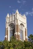 Ο πύργος κουδουνιών της πρώτα ενωμένης μεθοδιστούς εκκλησίας στο Ντάλλας Στοκ Εικόνα