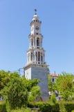 Ο πύργος κουδουνιών του χωριού Argalasti, Pelio, Ελλάδα Στοκ φωτογραφία με δικαίωμα ελεύθερης χρήσης
